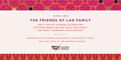 FRIENDS OF LAO FAMILY—FUNDRAISER PARTY