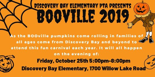 Discovery Bay Elementary BOOville 2019