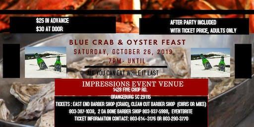 BLUE CRAB & OYSTER FEAST
