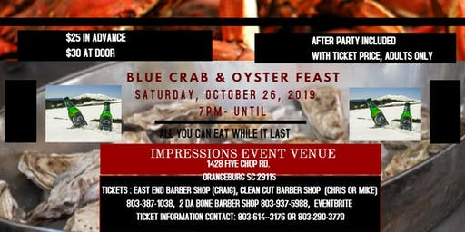 BLUE CRAB & OYSTER FEAST