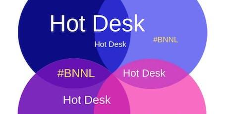 HotDesk BNNL at Hopper's Kitchen (Was BROOKLYN BISTRO) tickets