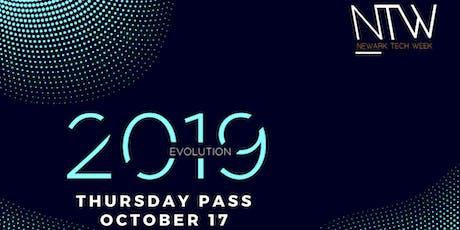 Newark Tech Week: Thursday Pass - Full Access tickets