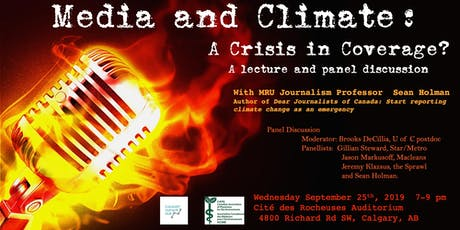 Media and Climate: a crisis in coverage? tickets