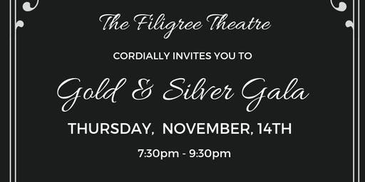 The Filigree Theatre Gold and Silver Gala