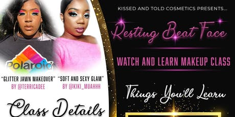 Resting Beat Face: Watch and Learn Makeup Class tickets