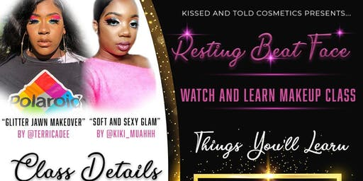 Resting Beat Face: Watch and Learn Makeup Class