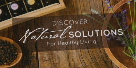 Natural Solutions with doTERRA Essential Oils tickets