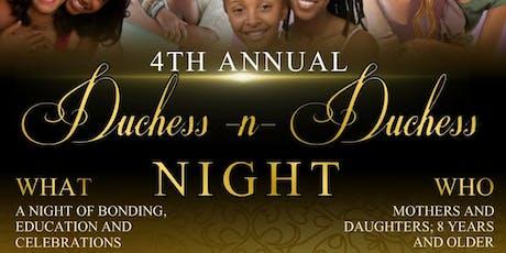 Duchess & Duchess Night 2019 tickets