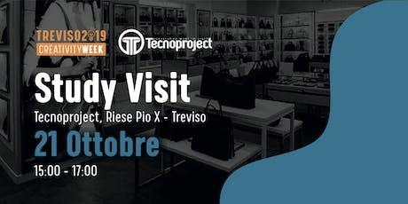 Study visit in TECNOPROJECT di Riese Pio X: lusso customizzato 100% biglietti