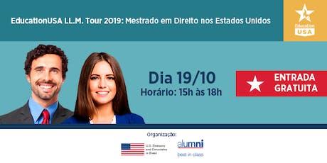 EducationUSA LL.M Tour - São Paulo  tickets