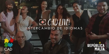 CADlive! Language Exchange - Intercambio de Idioma tickets