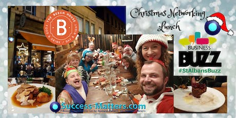 Christmas Lunch with Business Buzz & Success Matters 2019 tickets