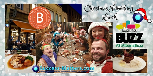 Christmas Lunch with Business Buzz & Success Matters 2019