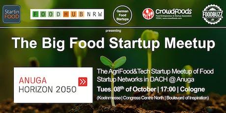 The Big Food Startup Meetup @Anuga Horizon 2050 Tickets
