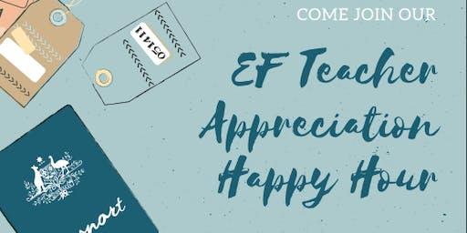 Teacher Appreciation Happy Hour