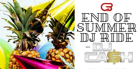 Goodbye Summer DJ Ride tickets