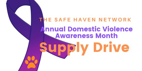 SHN Annual Supply Drive Donation Sorting tickets