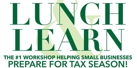 Serenity Financial Presents: Lunch & Learn: Small Business Tax Prep tickets