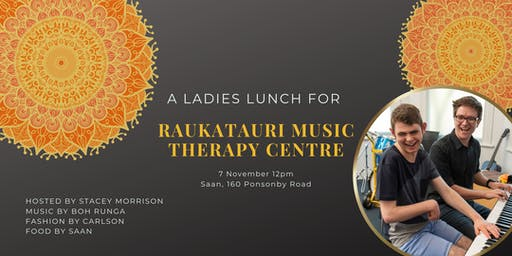 Ladies Lunch for Raukatauri