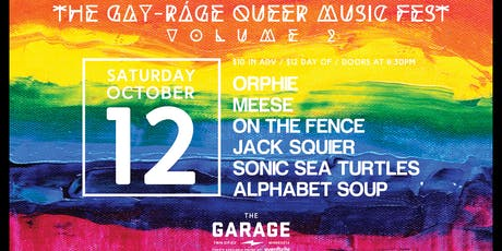 The Gay-ráge Queer Music Fest: Volume 2 tickets