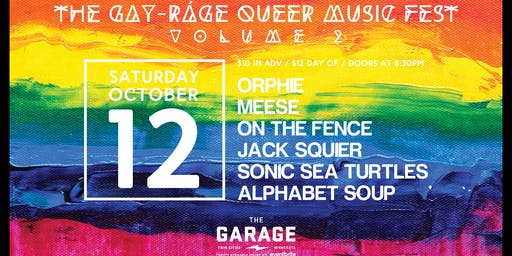 The Gay-ráge Queer Music Fest: Volume 2