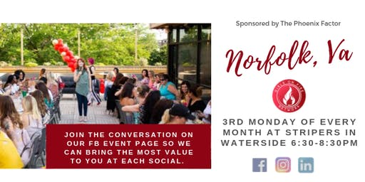 Norfolk, Va | Girls on Fire Monthly Social