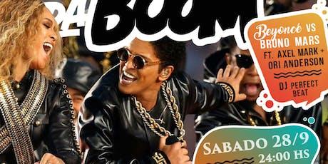Bruno Mars vs. Beyonce - DaBoom Edición Especial entradas