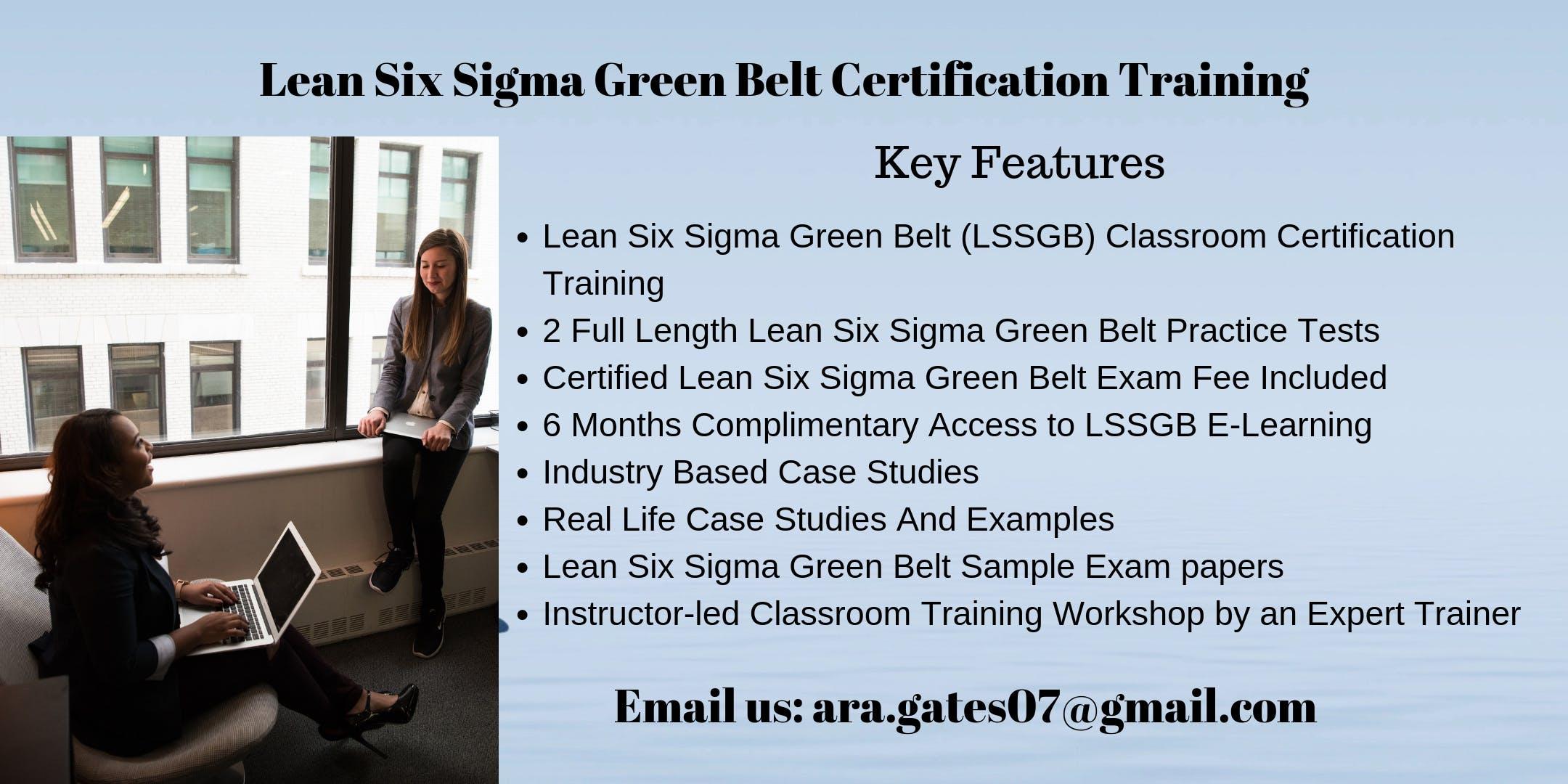 LSSGB Certification Course in Mesa, AZ