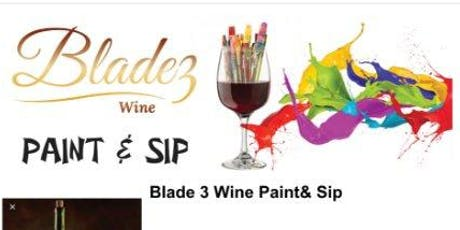 Blade 3 Wine Paint & Sip ATLANTA tickets