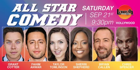 Bryan Callen, Taylor Tomlinson, Sherri Shepherd, and more - All-Star Comedy tickets