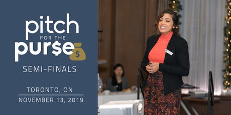 Pitch for the Purse Toronto Semi-Finals tickets