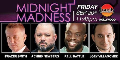 J Chris Newberg, Rell Battle, Joey Villagomez - Midnight Madness tickets