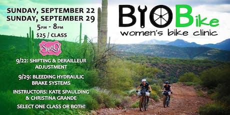 BYOBike Women's Bike Maintenance Class tickets