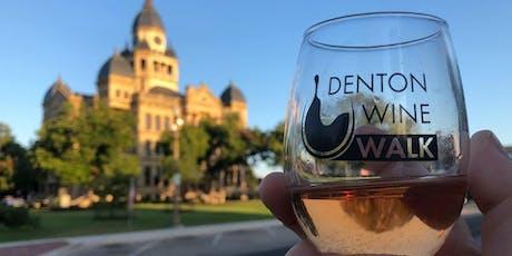 Denton Wine Walk tickets