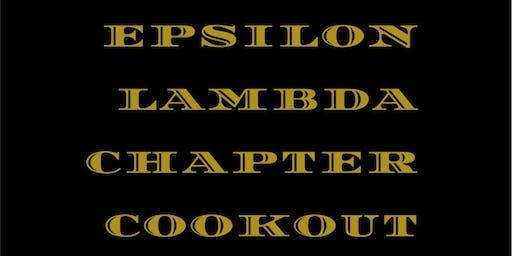 Epsilon Lambda Chapter Cookout