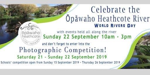 Ōpāwaho Heathcote World Rivers Day Events and Photo Competition