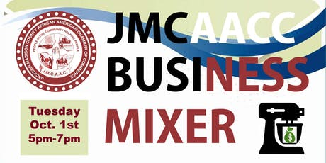JMCAACC Business Mixer, October 1, 5pm tickets
