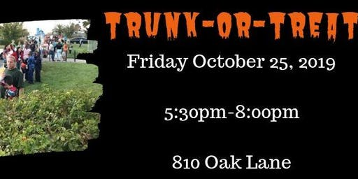 RLERPD's Annual Trunk-or-Treat