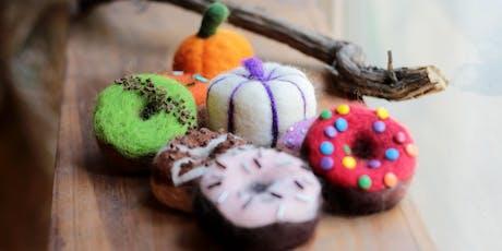 Pumpkins n'  Doughnuts Fall Felting Class with Gather DTLA tickets