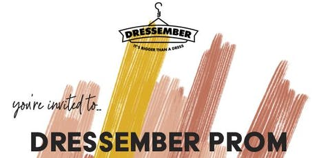Dressember Prom tickets