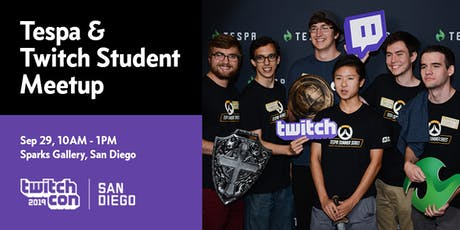 Tespa X Twitch Student TwitchCon 2019 Meetup tickets