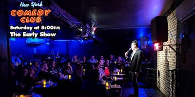 Free Tickets for the 'Early Show' at New York Comedy Club -  Standup Comedy