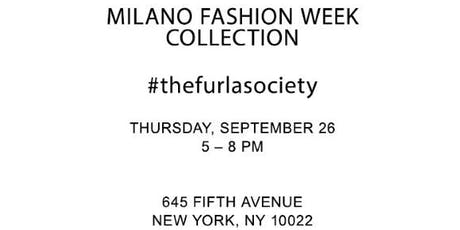 MILANO FASHION WEEK COLLECTION tickets