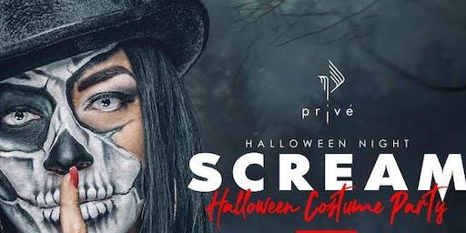 SCREAM Halloween Costume Party @ Revere Hotel Boston