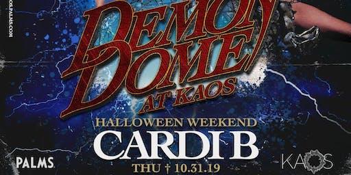 CARDI B @ KAOS Nightclub - Halloween