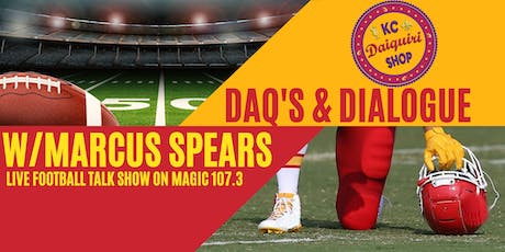 Daq's & Dialogue with Former NFL Player Marcus Spears tickets