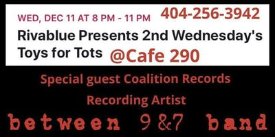 Rivablue Presents 2nd Wednesday's Toys for Tots