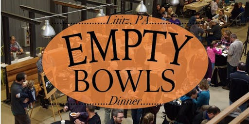3rd Annual Lititz Empty Bowls Dinner