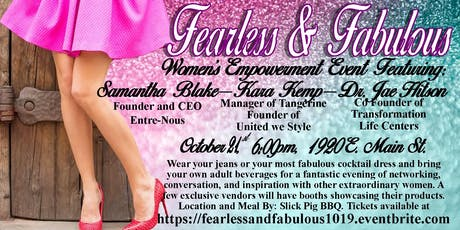 Fearless and Fabulous tickets