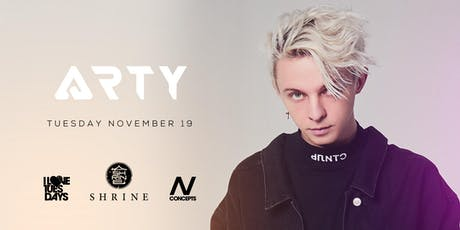 I Love Tuesdays feat. ARTY 11.19.19 tickets